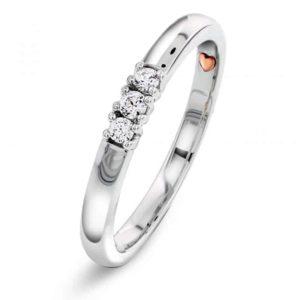 Perfect Kiss – Allianse diamantring