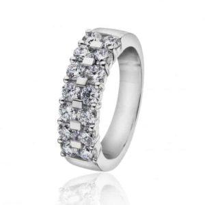 Rekkering med diamanter