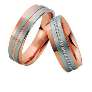 Forlovelsesringer / gifteringer – Bredde 6 mm