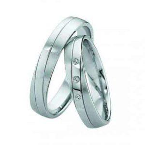 Forlovelsesringer/gifteringer – Bredde 4 mm