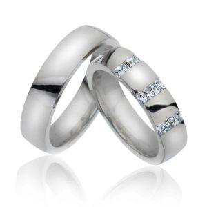 Forlovelsesring/giftering 5,3 mm