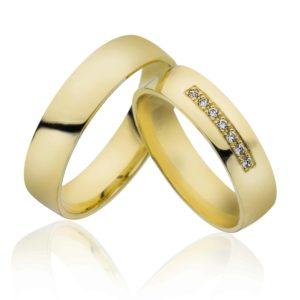 Forlovelsesring/giftering 5mm