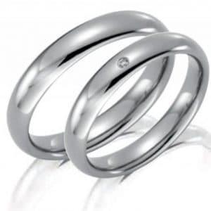Forlovelsesring/giftering i titan